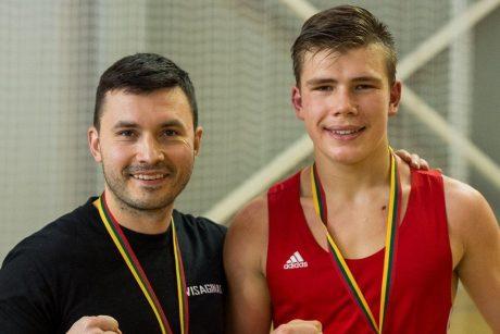 Bronzos medalį Europos čempionate lėmė dvi pergalės