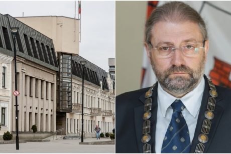 Įtarimų sulaukęs Panevėžio meras nemato pagrindo atsistatydinti