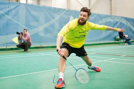 """""""Siemens"""" arenoje vyks trečiasis labdaringas K. Navicko badmintono turnyras"""