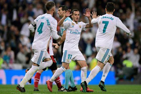 """Madrido """"Real"""" suklupo namuose"""