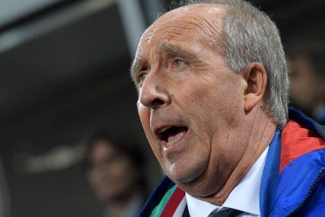 Italija atleido šalies futbolo dugną pramušusį trenerį