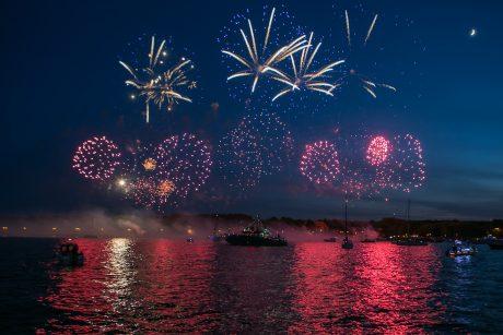 Laivų paradas vainikavo šventinių renginių kupiną Klaipėdos dieną