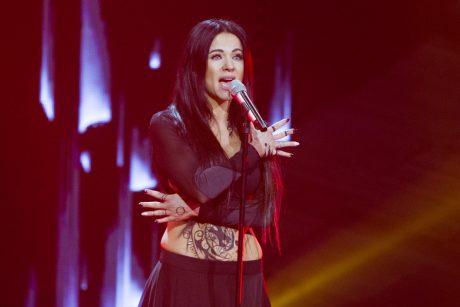 """A. Pilvelytė: nei vienas atlikėjas """"Eurovizijoje"""" nesulaukė tiek palaikymo, kiek aš"""