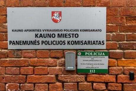 Incidentas Kauno policijoje: peiliu sužaloti du pareigūnai (atnaujinta)