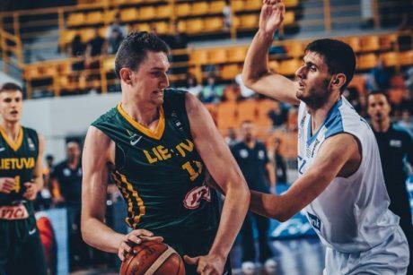 Lietuvos dvidešimtmečiai apmaudžiai krito Europos čempionato ketvirtfinalyje