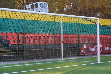 Saugumo sumetimais uždaroma LFF stadiono Pietų tribūna