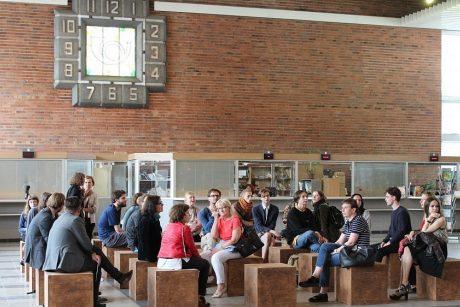 Neparašyti laiškai Vilniaus pašte atgimsta meninėmis instaliacijomis