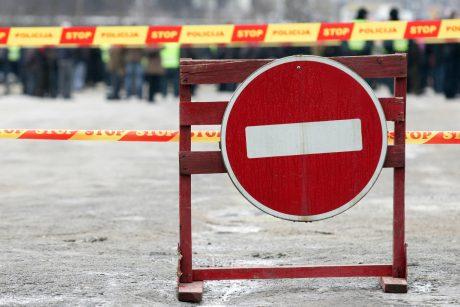 Dėl Tarptautinio fejerverkų festivalio bus laikinai draudžiamas eismas