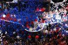 Istorinė akimirka JAV prezidento rinkimuose