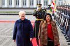 Į Lietuvą atvyko Gruzijos prezidentė