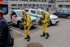 LSMU Farmacijos fakultete evakuoti žmonės