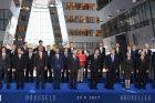 D. Trumpo ir NATO šalių vadovų susitikimas