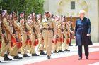 D. Grybauskaitė susitiko su Jordanijos karaliumi