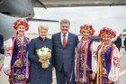 D. Grybauskaitės vizitas Ukrainoje