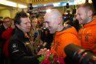 A. Juknevičiaus sutikimas Vilniaus oro uoste