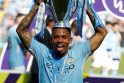 """Staigmena Anglijoje – """"Manchester City"""" neįveikė """"Huddersfield"""" ekipos"""