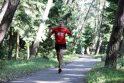 Klaipėdos pajūryje varžėsi maratono bėgikai (papildyta)