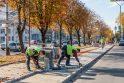 Darbai: Savanorių prospekte šiemet bus užbaigtas dviračių takas, o kitais metais toliau bus tvarkoma važiuojamoji kelio dalis.