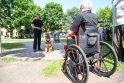 Infrastruktūra: uostamiesčio turizmo infrastruktūrą ketinama pritaikyti neįgaliesiems.