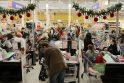 Prieš šventes į prekybos centrus plūsteli daugybė žmonių, tai labai traukia ir vagis.