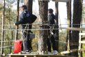 Kodas: asmens duomenų nurašymas laipynių parke klaipėdiečių šeimai sukėlė nusistebėjimą.