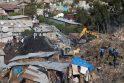 Etiopijoje sąvartyno griūties aukų padaugėjo iki 63