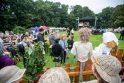 Derliaus šventė – su dainomis, šokiais ir sveikinimais