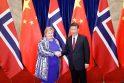 Erne Solberg ir Xi Jipingas