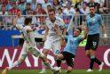 Urugvajaus rinktinė 3:0 įveikė rusus