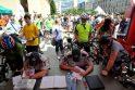 """""""Velomaratono"""" metu paženklintas rekordinis dviračių skaičius"""