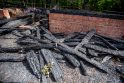 Sudegusių Rumšiškių muziejaus pastatų atstatymui gali prireikti iki 0,5 mln. eurų