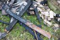 Kauno rajone per savaitę sudegė du greta stovėję namai