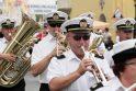 Nė viena miesto ar valstybės šventė Klaipėdoje nepraeina be pučiamųjų orkestro melodijų.