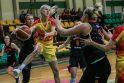 """""""Fortūnos"""" krepšininkės po dviejų pratęsimų nusileido """"Aisčių-LSU"""" ekipai"""