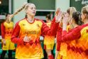 """Moterų taurės starte – čempionių vargas prieš šešias """"Fortūnos"""" žaidėjas"""