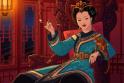 Prisiminimas: Nežinomas dailininkas nupiešė tokį alegorinį Ching Shih portretą.