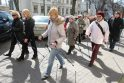 Daugėja šiaurietiško vaikščiojimo entuziastų