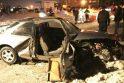 Kaune įvykusioje avarijoje apgadinti penki automobiliai (papildyta)