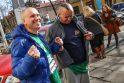 Broliai Maciai: R. Fernandezas lietuvius vadino komunistais