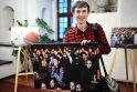 Rotušėje – krepšinio aistras menanti fotografijų paroda