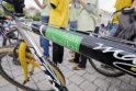 """""""Žalios"""" akcijos metu vilniečiai raginti persėsti ant dviračių"""