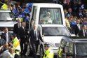 Popiežius Didžiojoje Britanijoje kovoja prieš sekuliarizmą ir ieško sąjungininkų