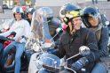 Motorolerių mėgėjai sostinėje uždarė sezoną