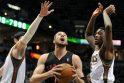 J. Valančiūnas nušluostė nosį NBA legendoms