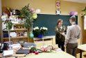 Mokytojų diena - auklėtinių gėlės ir sveikinimai