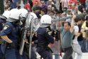 Graikijoje vyksta didžiausi protestai nuo skolų krizės pradžios