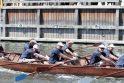 """Danės upėje – """"drakonų"""" laivų lenktynės"""