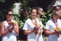Pagerbti medalius iškovoję jaunieji Kauno krepšininkai