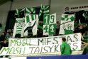 """LKL čempionatas: """"Žalgiris"""" – """"Kaunas"""" 78:57"""