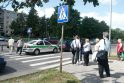 Pėsčiųjų perėjoje partrenkęs žmogų taksistas apsiverkė